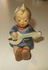 """Hummel Goebel figurine """"Joyful"""" #53 🎶 * 3.5"""" tall, Tmk3 Stylized Bee (Sb)"""