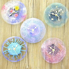 Silicone Mold jewelry big Clock Resin Mould handmade tool DIY epoxy molds  WBYW