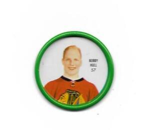 1962-63 Shirriff Coin:#57 Bobby Hull (Art Ross Trophy Winner)