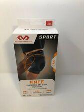 McDavid Knee Compression Knit Sleeve W/ Gel Buttress Level 2 L/XL