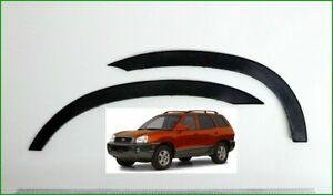 Hyundai Santa Fe Extensions D'aile 2 AV ou 2 AR Noir Mat Styling kit Année 00-06