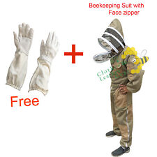 ULTRA VENTILATED 3 LAYER BREEZE MESH BEEKEEPING OVERALL BEE FULL SUIT SIZE