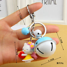 NEW Hello kitty Key chain Modelling of the angel The bell key chain Toy Gift 2