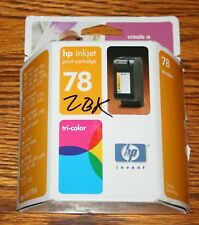 Genuine HP 78 Color Ink Cartridge (C6578DN) Sealed - Expired