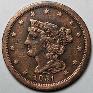 1851 Half Cent - 172634K
