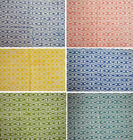 Natural Printed Indian Hand Block Print Handmade Sanganeri Vintage Cotton Fabric