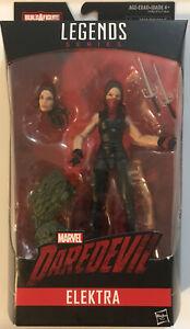 "Marvel Legends Series Elektra Build A Figure 6"" Action Figure NIB"