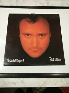 Phil Collins - No Jacket Required LP A1 81240 Club Edition w/ Inner Sleeve