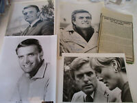 Ed Nelson television Series Classic Actor Supporting Role Signed Actual Western