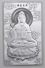 2014 China Buddhism Guanyin 1.08g Silver Card with COA and BOX Nanjing Mint