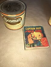 CAPTAIN EASY BIG LITTLE BOOK PREMIUM WITH RARE COCOMALT CAN GREAT DISPLAY!!