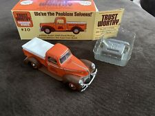 Trustworthy Hardware 1940 Ford Pickup 1/25 scale Die Cast Bank in Box