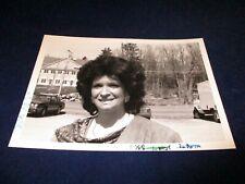 Glossy Press Photo 1988 Joann Sharp selectman Northboro MA