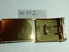 Koppelschloss ohne Auflage Messing für 45 mm Koppel neu 1 Stück (ks64)