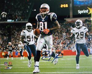 Randy Moss New England Patriots Signed Autographed 8x10 photo Reprint