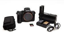 Sony Alpha A7 III A7III Mirrorless Digital Camera Body + Grip & Extras! *USA
