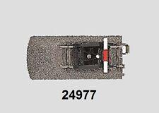 Märklin H0 24977 voie C scintillant avec butoir NEUF + emballage d'origine
