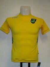 JAMAICA 2012/13 HOME SHIRT BY KAPPA SIZE BOYS AGE 12 YEARS BRAND NEW WITH TAGS