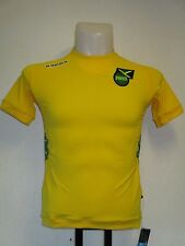 JAMAICA 2012/13 HOME SHIRT BY KAPPA SIZE BOYS AGE 8 YEARS BRAND NEW WITH TAGS