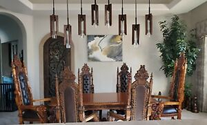 Gothic Lord Raffles Dining Room Set 7 Piece