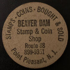 Beaver Dam Coin Stamp And Coin Shop Silver Wooden Nickel Point Pleasant NJ