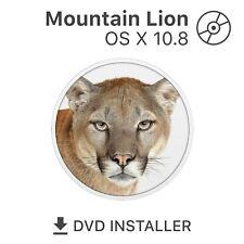 mac OS X 10.8 Mountain Lion Bootfähige DVD Installationsdaten Reparatur Recovery