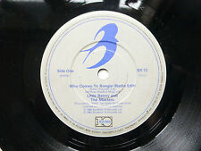 """LITTLE BENNY AND THE MASTERS Who Comes To Boogie (radio edit) 1985 7"""" Vinyl"""