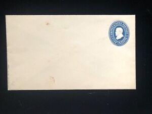 U.S: MINT #U334 (WHITE) 5¢ ENTIRE CV $50