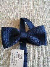 Men/'s Dark Blue Tie Knit Knitted Tie Necktie Narrow Slim Skinny Woven ZZLD905