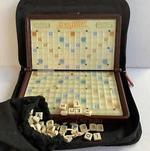 Hasbro Scrabble Travel Portable Edition 2001 Vintage Game