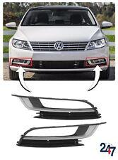 NEW VOLKSWAGEN VW PASSAT CC 2012 - 2017 FRONT BUMPER LOWER GRILL PAIR SET