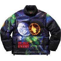 Supreme Undercover Public Enemy Mulit-Color Puffy Jacket Sz L Confirmed Order