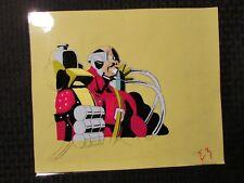 "GI JOE Cartoon 12.5x10.5"" Animation Production Cel FN+ 6.5 Inferno IM-80 T-3"