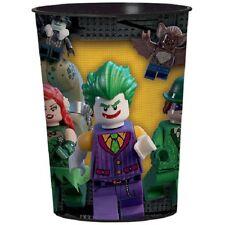 Batman Lego Birthday Party Plastic Favor Cup 16 oz