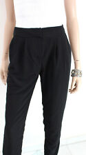 GUESS by MARCIANO Damen Stoffhose S ital. 40 dt. 34 36 Polyester schwarz Hose