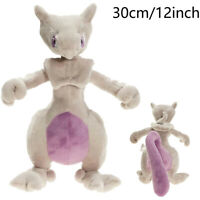 30cm/12'' Anime Dolls Movies Animal Plush Soft Mewtwo Cartoon Cute Gift Toys New