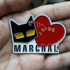VINTAGE LOVE MARCHAL FOG LIGHT bulb HISTORY PIN FOR SALE CAT LOGO VECTOR BADGE
