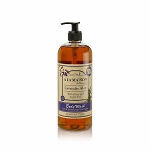 A La Maison Lavender Aloe Body Wash Soap, 25.36 oz
