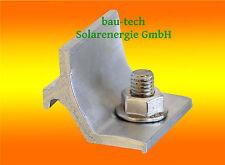 5 Stück Kreuzverbinder Alu für Solar Profil  Schiene Photovoltaik Montage