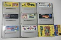 Super Famicom 8 Japan SFC game lots US Seller