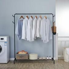 Clothing Garment Rack Heavy Duty Grade Clothes Stand Rack W/ Rod Storage Shelves