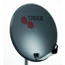 64cm Triax Satellite Dish (TD64) Non Rust Ideal for Seaside Location Rust Free