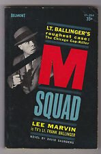 VINTAGE MYSTERY PB.M SQUAD.TV TIE IN.LEE MARVIN.NICE COPY!