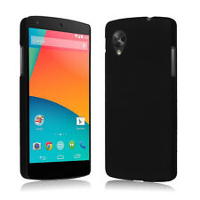 Black New Hard Snap On PC Back Case Cover Protective Shell for LG Google Nexus 5