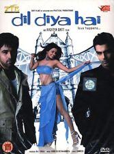 DIL DIYA HAI - ORIGINAL BOLLYWOOD DVD - FREE POST
