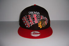 CHICAGO BLACKHAWKS NEW ERA 9FIFTY SNAPBACK HAT CAP MEN'S NEW WITH TAG!
