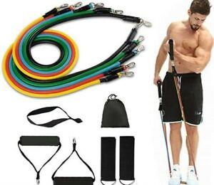 Bandas de Resistencia Elásticas Fitness Gomas Musculación Yoga Gym Hogar Set