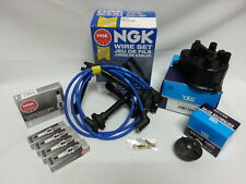 IGNITION KIT for HONDA CIVIC NGK SPARK PLUGS WIRE SET YEC CAP ROTOR JAPAN DX EX