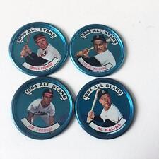 Baseball Coin Vtg Topps 1964 All Stars Lot 4 AL 125 126 128 129 Fregosi Kaline