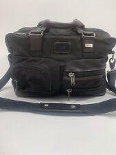 Tumi Briefcase Duffle Crossbody Messenger Laptop Bag Ballistic Leather Nylon